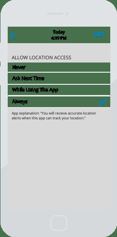 SaferMe Location iOS4
