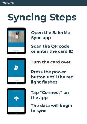 Sync Steps Black iPad