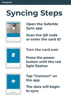 Sync Steps Grey iPad
